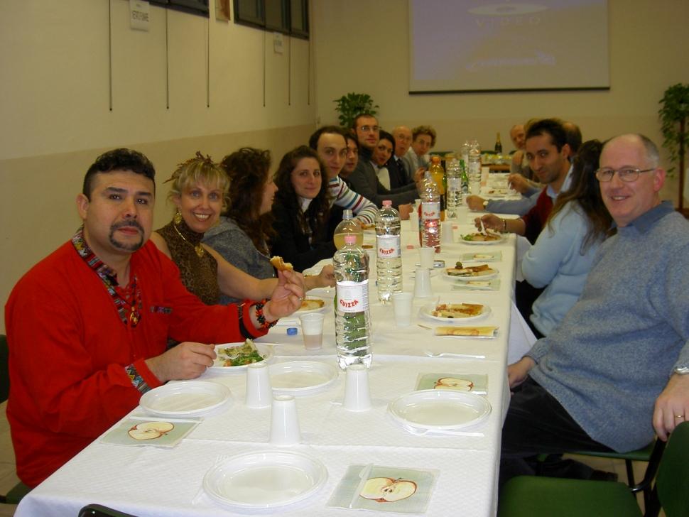 Pizza Natalizia coppie 2006