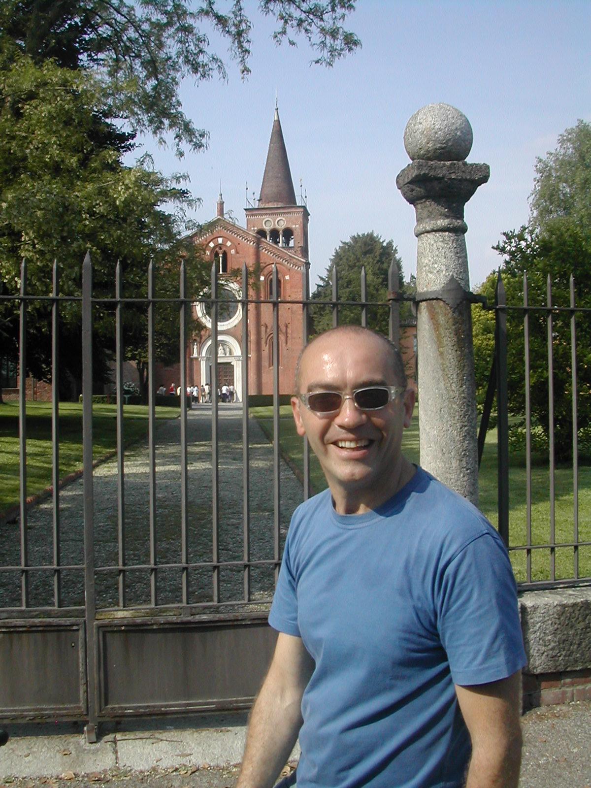 La bicilonga-Padre Antonello a Viboldone