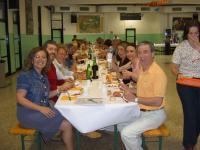 Una tavolata Cena comunitaria 2006