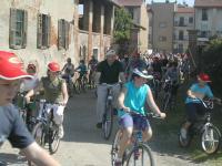 La biciclettata - arrivo in cascina