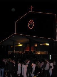 La chiesa vestita a festa