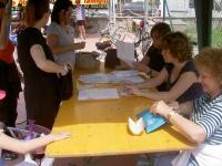 La bicilonga-il tavolo delle iscrizioni