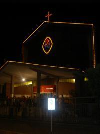 La Chiesa illuminata